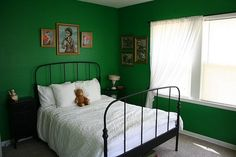 Originally from The Sweet Line - a child's bedroom or perhaps modified for a guest bedroom?