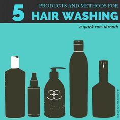 5 ways to wash natural hair