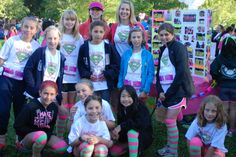 The Saratoga Superstars at the 2013 Girls on the Run of Silicon Valley Girls on the Run 5K
