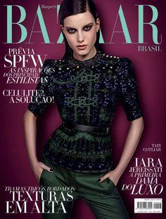 Harper's Bazaar Brazil June 2012 Tatiana Cotliar by Fabio Bartelt