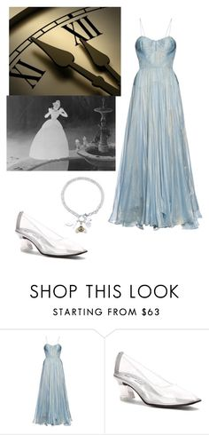 """Cinderella"" by mad4sewing ❤ liked on Polyvore featuring Maria Lucia Hohan, Touch Ups, Disney, women's clothing, women, female, woman, misses and juniors"