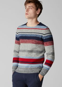Пуловер Marc O'Polo 505560248/345 Marc O Polo, Men Sweater, Stripes, Pullover, Sweaters, Free, Clothes, Style, Fashion