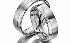 Verighete aur alb MDV913 #verighete #verighete7mm #verigheteaur #verigheteauralb #magazinuldeverighete Aur, 50 Euro, Wedding Rings, Engagement Rings, Jewelry, Crystal, Diamond, Enagement Rings, Jewlery