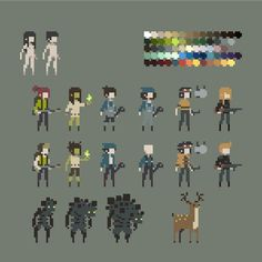 18 bit pixels | 25+ best ideas about Sprites on Pinterest | Pixel art ...