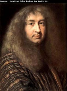 Robert Nanteuil (1623-1678), artist to Louis XIV, 1660 ~ self-portrait