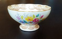 Foley China Sugar Bowl Vintage English Fine by darcyelizavintage
