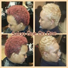 Natural hair cut and colored by Venessa 757-289-9921