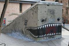 Street art by Borondo  Murals, Studio Art, Graffiti Art, Characters