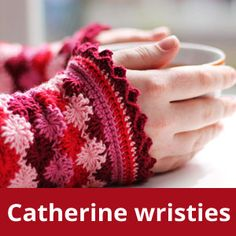 Pattern Catherine wristies (EN)