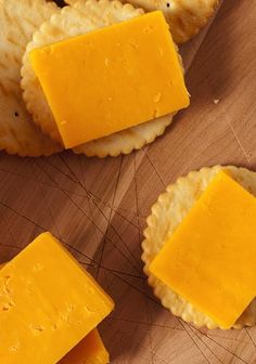 Cheese and crackers aren't just a good party treat, they're also a fab post workout snack. Get our TOP TEN PRE AND POST WORKOUT TREATS HERE!