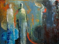"""""""Separation"""" by Shelby McQuilkin abstract figurative, artist blog,"""