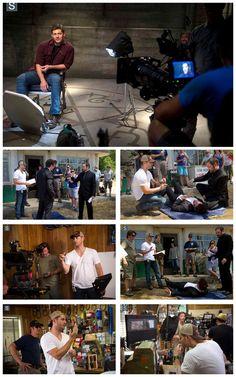 Jensen directing 10x03 Soul Survivor