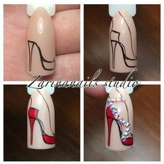 What manicure for what kind of nails? - My Nails Shoe Nails, Nail Manicure, Diy Nails, Manicures, Stiletto Nails, Nagel Bling, Image Nails, Nail Art Techniques, Stylish Nails