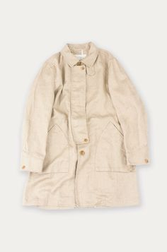 nest Robe men's heavy linen coat