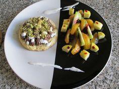 Dessert Tartellette crem    et   fruits  frais Gino D'Aquino