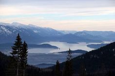 Lake Pend Oreille in north Idaho