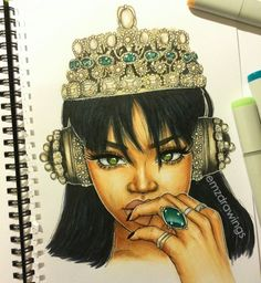 http://rihannainfinity.tumblr.com/post/138098985646/emzdrawings-my-drawing-of-rihanna-anti