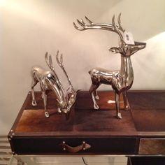 Reindeer on Cowhide Las Vegas World, Market Trends, World Market, Reindeer, Moose Art, Rustic, Leather, Country Primitive, Retro