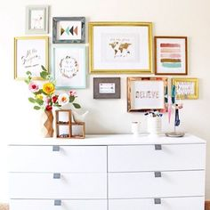 """""""You guys.. I may have shed actual tears when I took down Nora's gallery wall today ! This room was such a labor of love for me and @thewellscollection,…"""""""