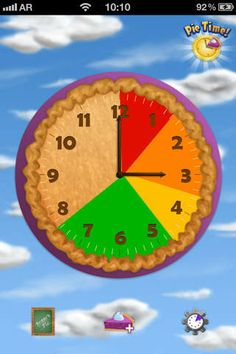 FREE app Aug 14th (reg 1.99) Pie Time helps kids and adults stay on track by showing how a slice of pie for a given task gets eaten away over the passage of time.
