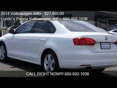 Phoenix Volkswagen   2014 Volkswagen Jetta TDI for sale in Peoria, AZ   ...  Lunde's Peoria Volkswagen Phoenix, AZ www.peoriavw.com #vw #volkswagen