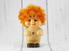 Gift Idea for child toy kids room decor christmas toy carlson vintage rubber doll fairy tale baby bath toy Rare Soviet toy collectible doll by SomeVintage4you on Etsy