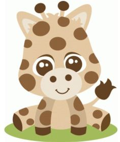 Welcome to the Silhouette Design Store, your source for craft machine cut files, fonts, SVGs, and other digital content for use with the Silhouette CAMEO® and other electronic cutting machines. Safari Animals, Felt Animals, Baby Animals, Baby Giraffes, Silhouette Design, Silhouette Cameo, Giraffe Silhouette, Animal Cutouts, Cute Cartoon Pictures