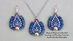 macrame bracelets and necklaces tutorials - YouTube