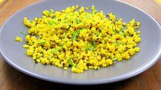 1-minute Quinoa Golden Pressure Cooker Pilaf | hip pressure cooking