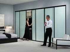 glass closet doors frosted you can get the frames in any number of colours