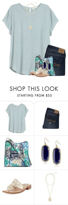 """""""I feel so free when you're with me"""" by your-daily-prep ❤ liked on Polyvore featuring H&M, Abercrombie & Fitch, Vera Bradley, Kendra Scott and Jack Rogers"""