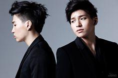 DMTN launches their website along with official photos Crazy Hair, Asian Boys, Dalmatian, Boy Bands, Tv Shows, Korea, Product Launch, Kpop, Hair Styles