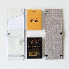 RHODIA No.10 ファブリックハードカバー