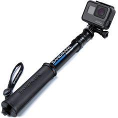 SANDMARC Pole - Compact Edition: Waterproof Pole (Selfie Stick) for GoPro Hero 7 Hero 6 Hero 5 Hero 4 Fusion Hero 5 Session Hero 3 3 2 & HD Cameras - Telescoping and Portable Extension Gopro Hero 5, Camcorder, Selfies, Compact, Go Pro, Gopro Camera, Camera Gear, Tecnologia, Flashcard