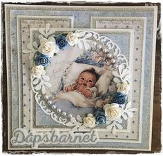 What You Need to Know to Make a Scrapbook – Scrapbooking Fun! Vintage Scrapbook, Baby Scrapbook, Baby Shower, Homemade Journal, Baby Barn, Baby Boy Cards, Mixed Media Cards, 3d Cards, Baby Kind