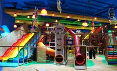 indoor playground LARGEST Centre in the World - designed manufactured amp; installed by - Commercial Play Structures Playground Equipment Kids Indoor Playhouse, Kids Indoor Playground, Build A Playhouse, Playground Ideas, Indoor Play Centre, Indoor Play Areas, Soft Play Centre, Playroom Design, Kids Room Design