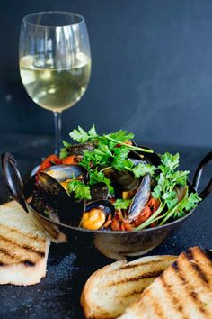 Chilli & Chorizo Mussels / A Feast for the eyes
