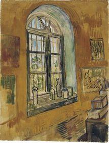 Window in the studio, Vincent van Gogh, 1889