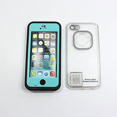 iPhone 5c Waterproof Case Clear Back Cell Phone Awesome Protective Covers & Accessories Offers Alternative to Lifeproof Defender & Otterbox Cases, for Apple AT&T, Verizon Wireless, Virgin & Sprint Phones. Buy Now to Protect & Defend Your Investment! (Teal), http://www.amazon.com/dp/B00KSL4CKU/ref=cm_sw_r_pi_awdm_EC37tb14PRN66