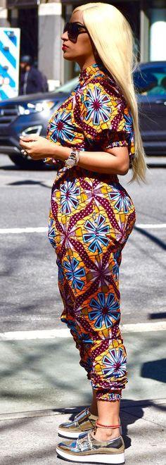 juliet ibrahim in african print jumpsuit, African fashion, Ankara, kitenge, African women dresses, African prints, African men's fashion, Nigerian style, Ghanaian fashion, ntoma, kente styles, African fashion dresses, aso ebi styles, gele, duku, khanga, vêtements africains pour les femmes, krobo beads, xhosa fashion, agbada, west african kaftan, African wear, fashion dresses, asoebi style, african wear for men, mtindo, robes, mode africaine, moda africana, African traditional dresses