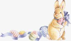 rabbit, Gray Rabbit, Animal PNG Image and Clipart Easter Illustration, Watercolor Illustration, Bunny Sketches, Rabbit Png, Spring Art, Easter Celebration, Vintage Easter, Beatrix Potter, Easter Crafts