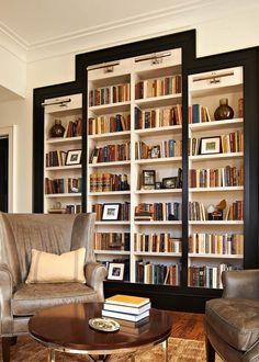 BW bookcase