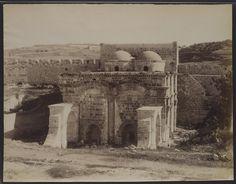 Jérusalem Porte dorée (intérieur) - Félix Bonfils
