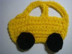 Amurushka: Car appliqué pattern