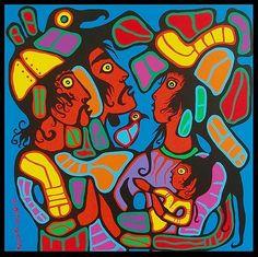 Hazel Home Art and Antiques Wausau, Wisconsin: Norval Morriseau and The Woodlands School of Art Native Art, Native American Art, American Artists, Algonquin Indian, Woodlands School, Kunst Der Aborigines, Haida Art, Indigenous Art, Expo