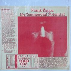 Singer's Original Double Disk (SODD); Frank Zappa / The Mothers Of Invention 'No Commercial Potential', 2 LPs live and studio in good/very good stereo. Released 1975
