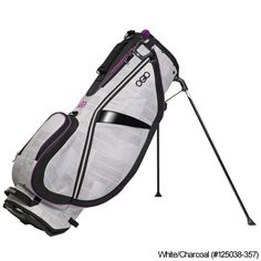 OGIO Ladies Featherlite Luxe Stand Bags  http://www.fairwaygolfusa.com/ogio-ladies-featherlite-luxe-stand-bags-p-64792.html?ladies_page=ladies