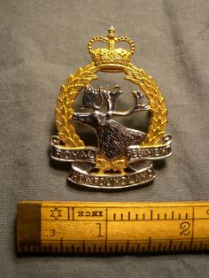 Canadian Soldiers, White Belt, Royal Air Force, Newfoundland, Wwi, Badge, Silver, Newfoundland Dogs, Badges