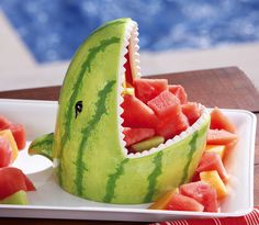 Watermelon Shark Fruit Server, $14.99 | 30 Super Fun Products You Definitely Need This Summer
