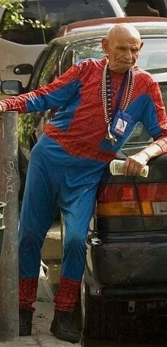 Spiderman's grandfather ?  This is SO wrong........